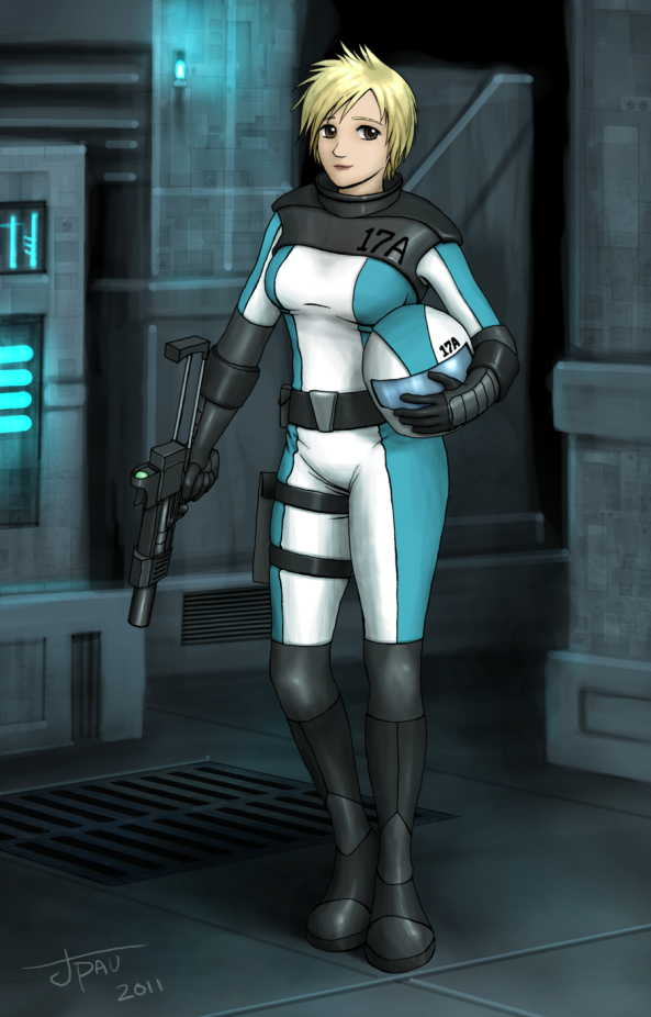 Anime-Girl-Sci-Fi-Starfighter-Pilot-with-Gun (1)