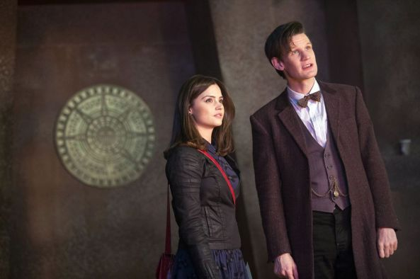 Doctor Who - Jenna-Louise Coleman and Matt Smith-1745993
