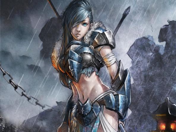 women_video_games_rain_blue_eyes_armor_artwork_warriors_female_warriors_chains_2894x1931_wallpape_Wallpaper_1280x960_www.wallmay.net (1)