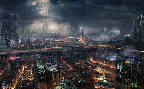 Paris-Futuristic-Science-Fiction