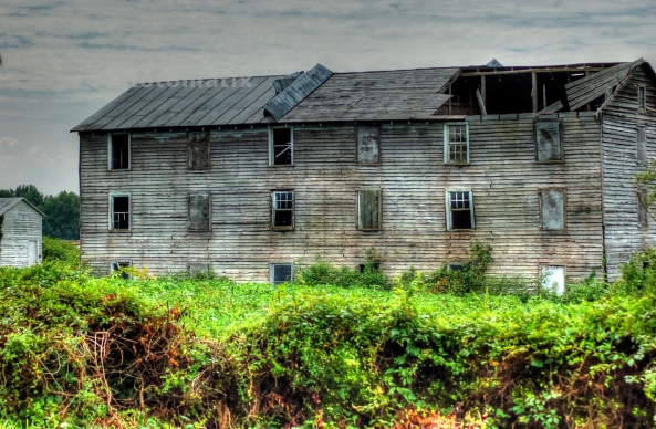 abandoned barn painterly 1