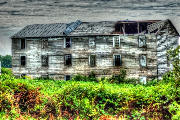 abandoned barn painterly 2